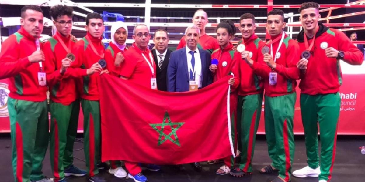 صورة المنتخب الوطني للمواي طاي يحقق لقب البطولة العربية