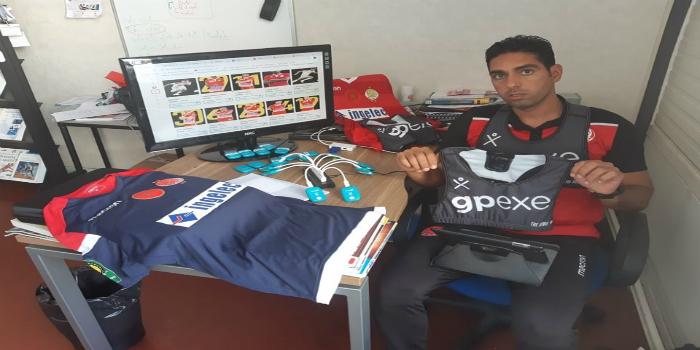 صورة مناف نابي يجلب معدات بدنية من فرنسا والوداد أول فريق مغربي يستعملها