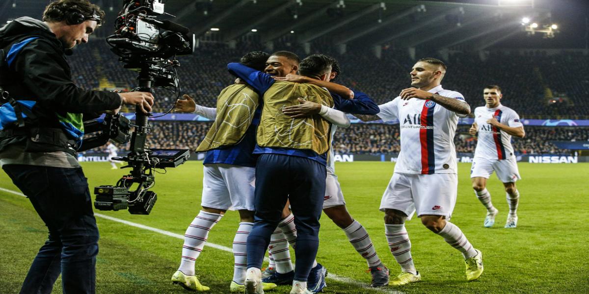 صورة باريس سان جيرمان يدك شباك كلوب بروج بخمسة أهداف والسيتي يسحق أطلانطا