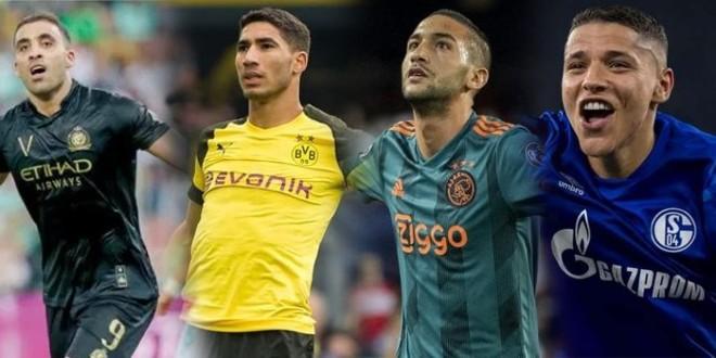 صورة محترفو الخليج يتصدرون قائمة اللاعبين المغاربة الأعلى أجرا