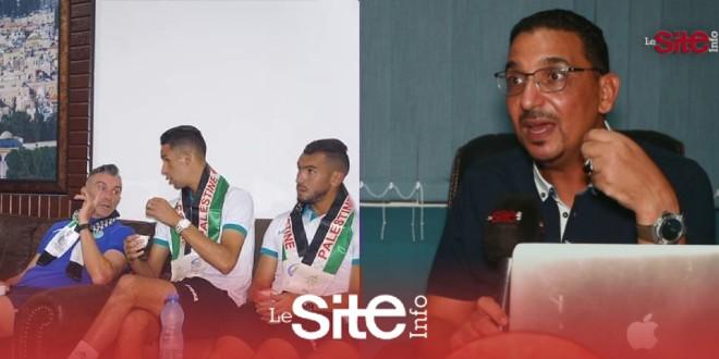 صورة أبو حفص يتحدث عن تطبيع الرجاء مع إسرائيل ويوجه رسالة قوية للجماهير الكروية