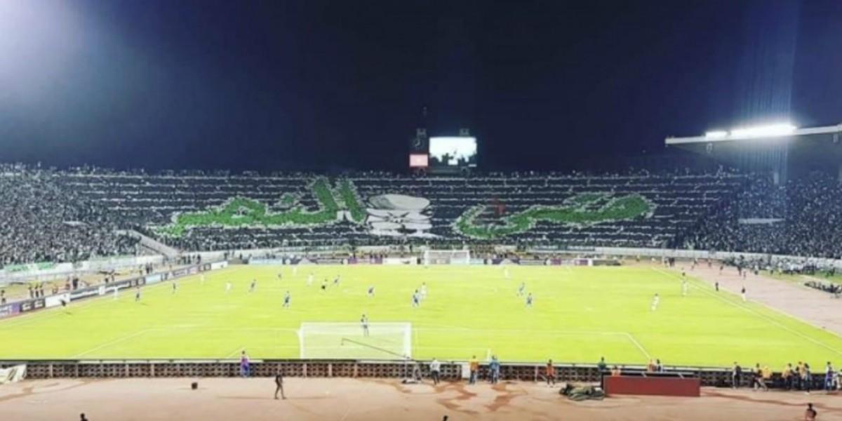 صورة جمهور الرجاء ينفرد برقم مميز في كأس محمد السادس