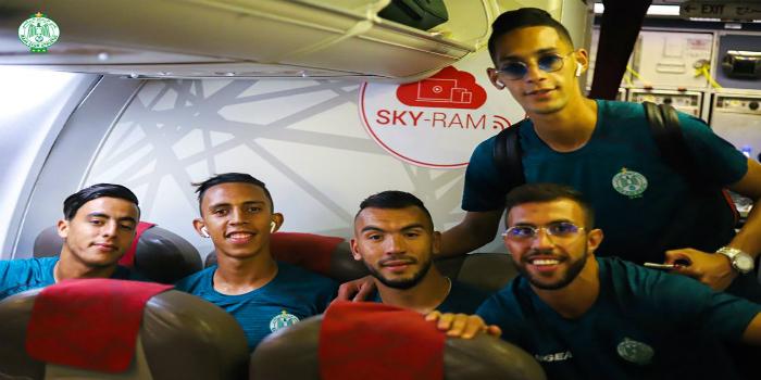 صورة الرجاء يتوصل بتصاريح دخول الأراضي الفلسطينية لجميع لاعبيه ويحدد موعد انطلاق رحلته
