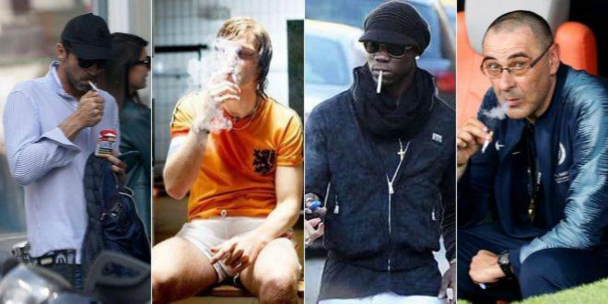 صورة زيدان رونالدو ونيمار.. تعرف على أشهر نجوم وأساطير كرة القدم المدخنين