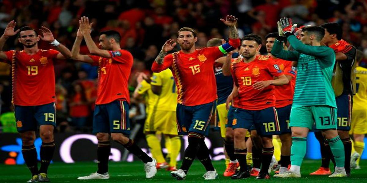 صورة إسبانيا تتعادل وتتأهل رسميا ليورو 2020