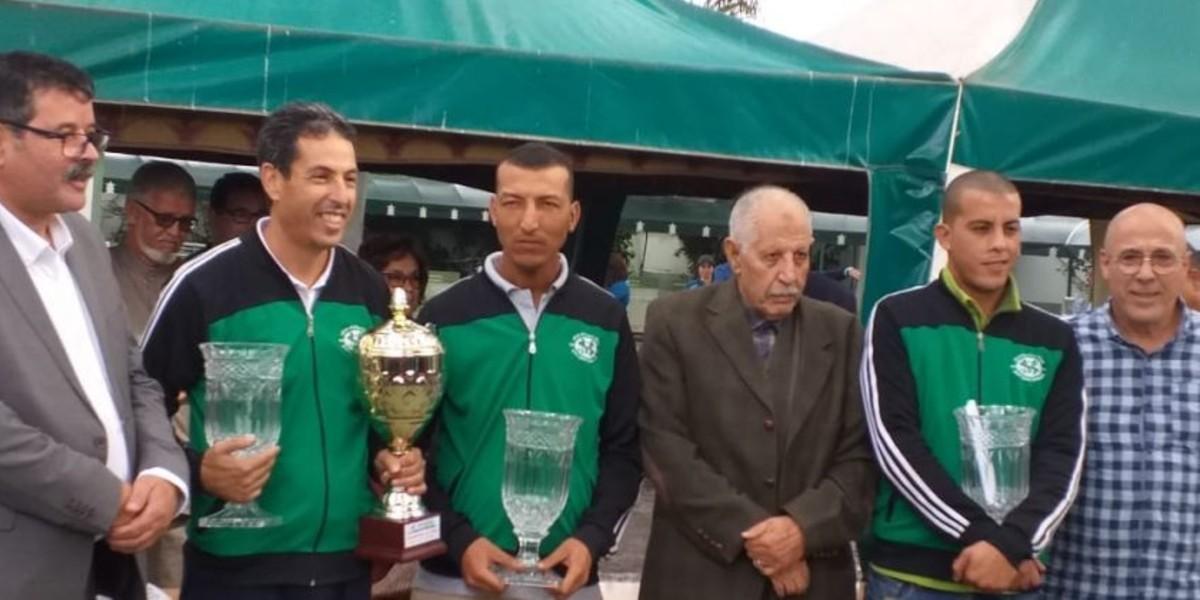 صورة سطاد المغربي يتوج بلقب البطولة الدولية للكرة الحديدية