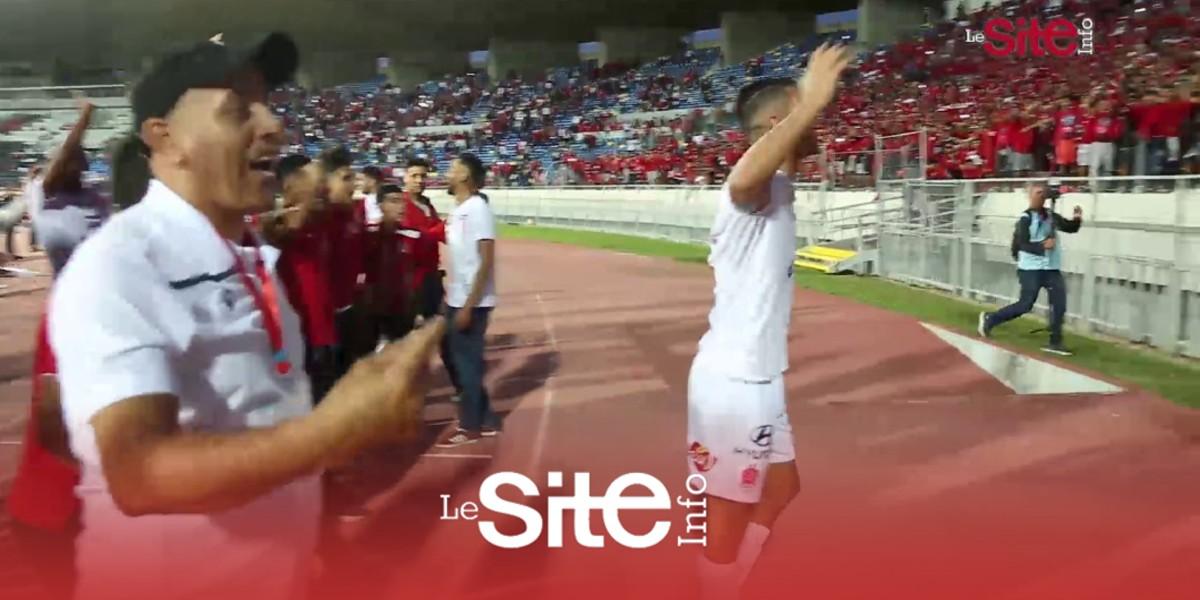 صورة فيديو.. احتفالات لاعبي الوداد مع الوينرز بعد الفوز على يوسوفية برشيد