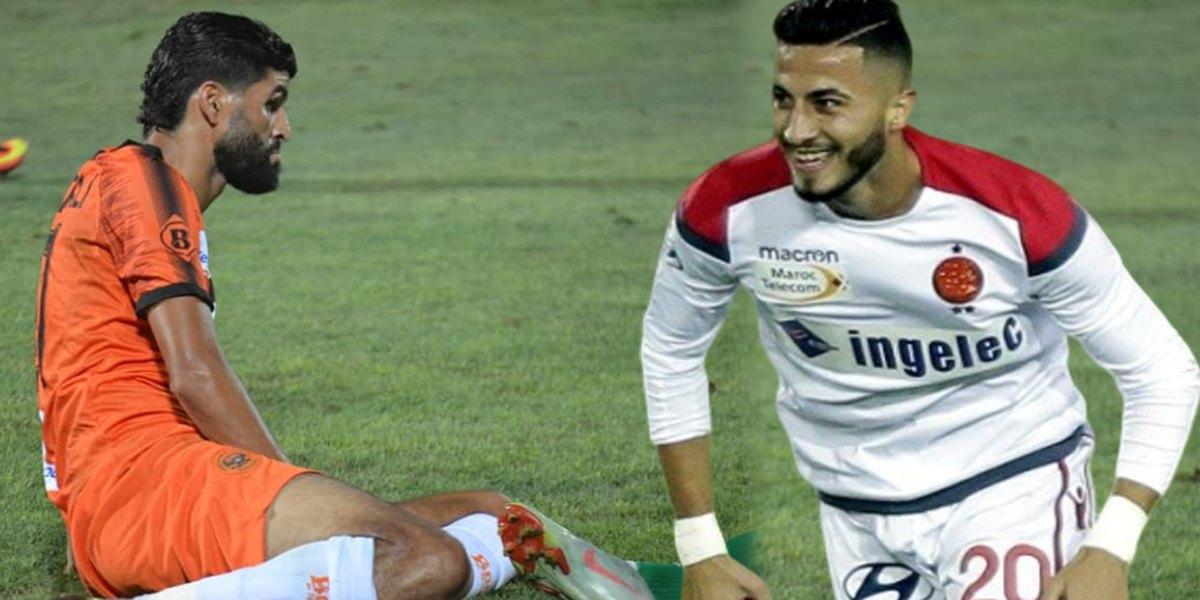 """صورة لاعب الوداد يسخر من بكر الهلالي ويصفه بـ""""القرد""""..والأخير يعتذر"""