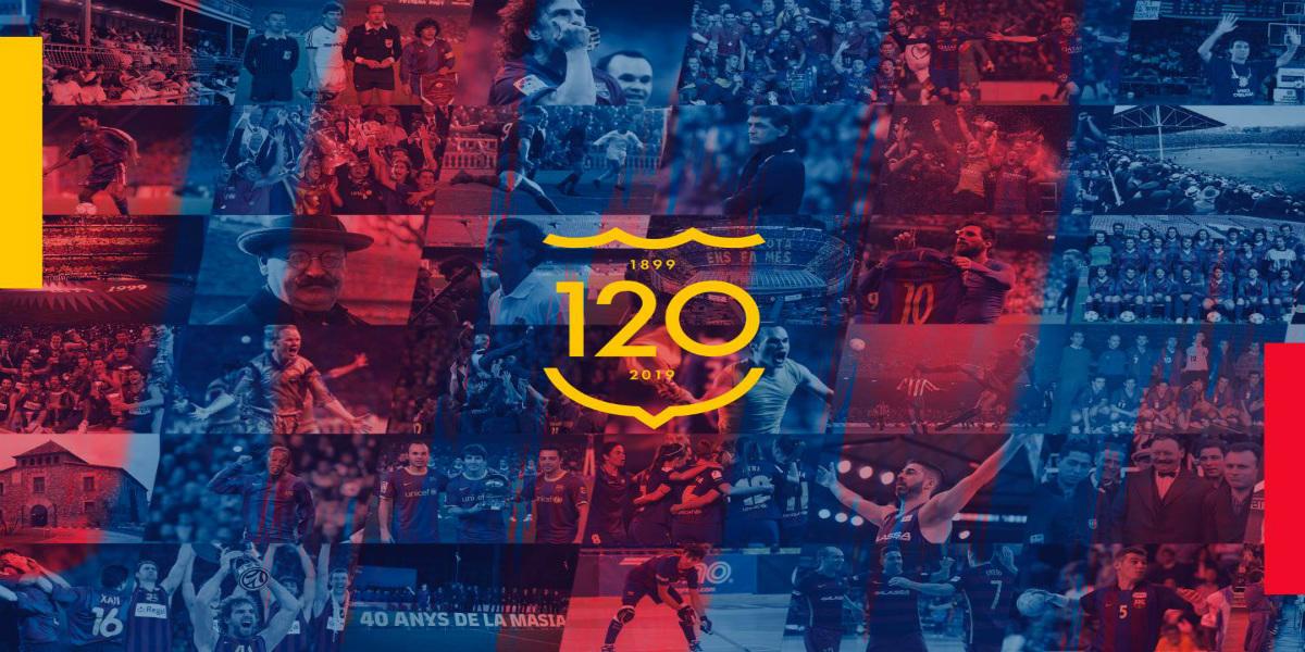 صورة برشلونة يحتفل بالذكرى الـ120 لتأسيسه