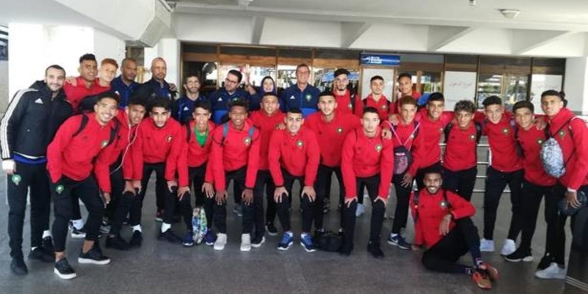 صورة المنتخب الوطني لأقل من 20 سنة يتعادل مع المنتخب التونسي
