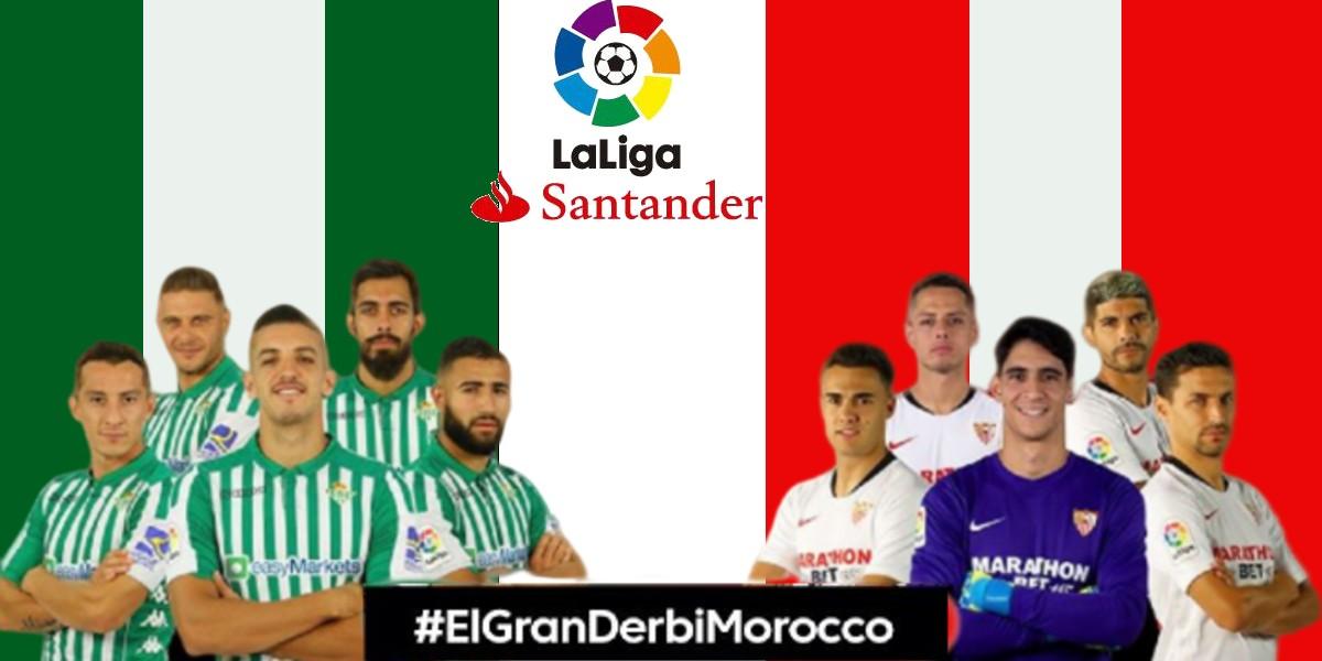 """صورة بمناسبة """"ديربي الأندلس"""".. """"الليغا"""" تحتفي بمحبي الدوري الإسباني في الدار البيضاء"""