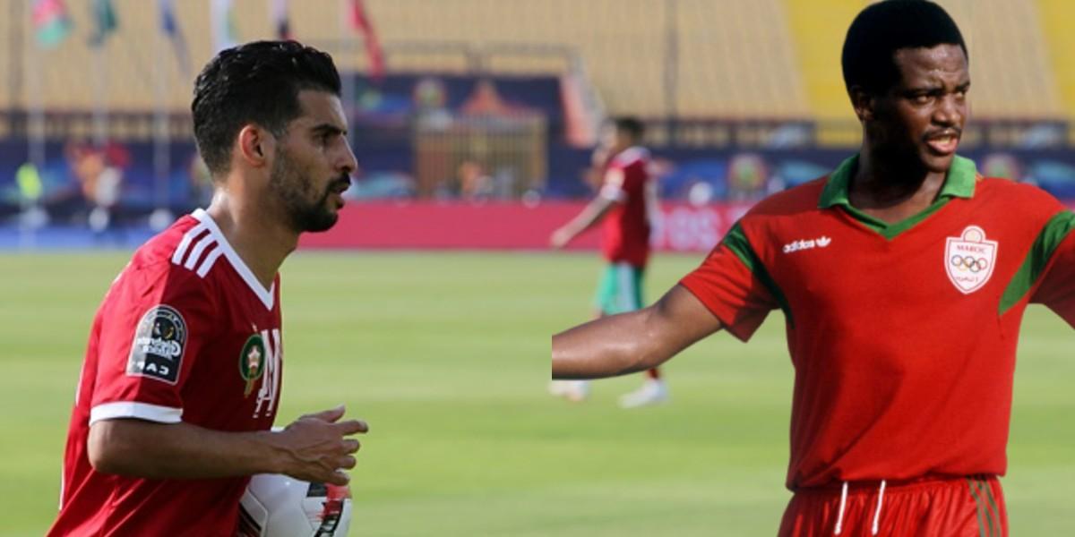 صورة بوصوفة يكشف عن لاعبه المغربي المفضل