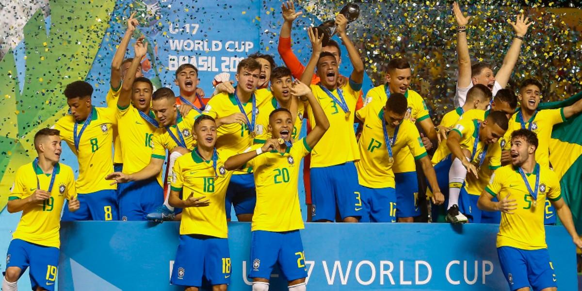 صورة البرازيل تقضي على أحلام المكسيك وتتوج بمونديال الناشئين