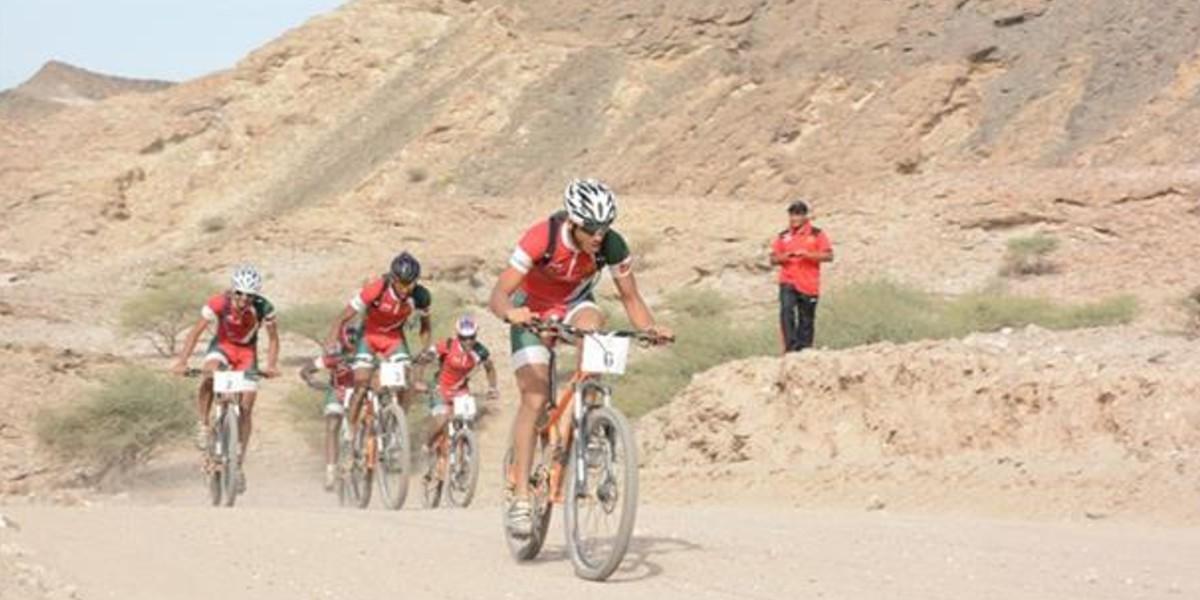 صورة الدراجة المغربية تتألق في النسخة الثالثة من البطولة العربية للدراجات الجبلية
