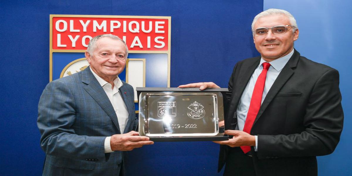 Photo of الفتح الرباطي يوقع عقد شراكة مع أولمبيك ليون