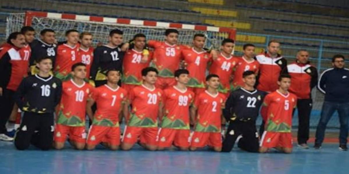 صورة المنتخب الوطني لكرة اليد يحرز المرتبة الثالثة في البطولة العربية للناشئين