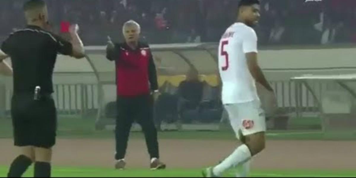 صورة جبران مهدد بالعقاب لسلوكه في مباراة الوداد ونهضة بركان