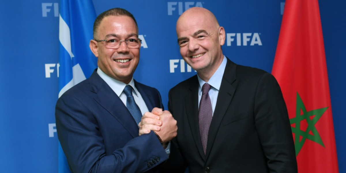 "Photo of لقجع: ""نحن مع إنفانتينو من أجل إصلاح الكرة في إفريقيا"""