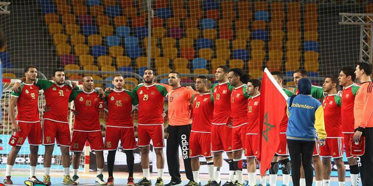 صورة قائمة المنتخب الوطني لكرة اليد المستدعاة للتجمع الإعدادي بإفران