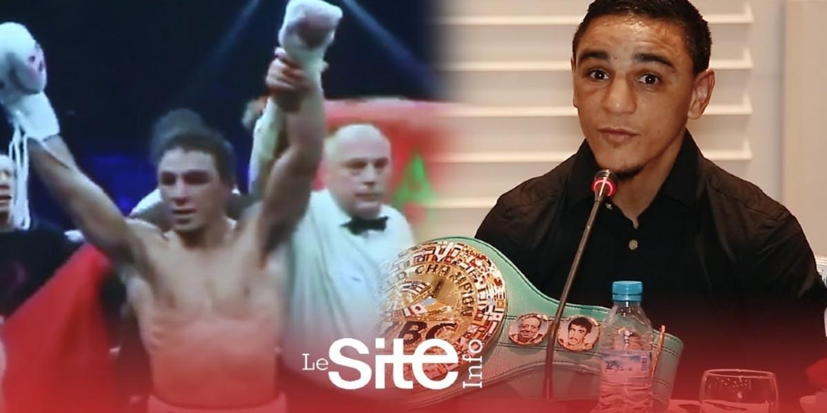 صورة جامعة الملاكمة تحتفل بالبطل أوباعلي بعد تتويجه ببطولة العالم