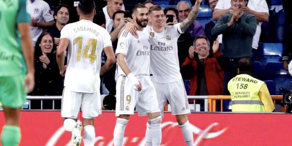 صورة ريال مدريد يواصل صحوته بثلاثية في مرمى سوسيداد-فيديو