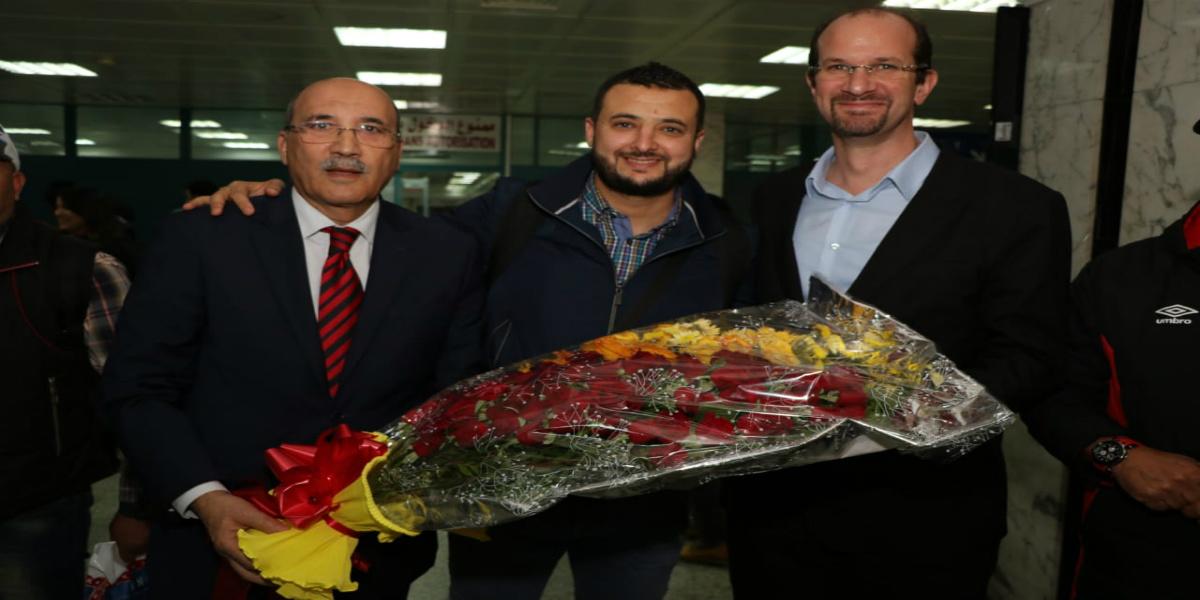 Photo of بعثة أولمبيك أسفي تشد الرحال إلى تونس