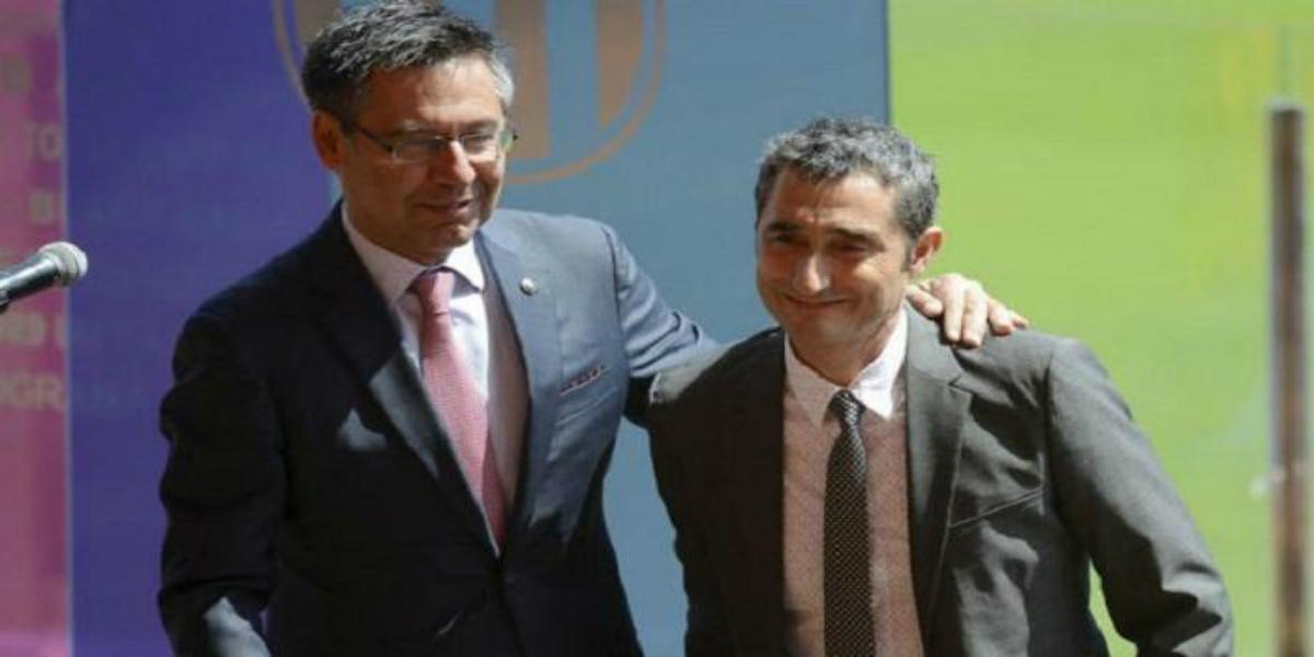 """صورة بارتوميو: """"فالفيردي هو المدرب المثالي لبرشلونة"""""""