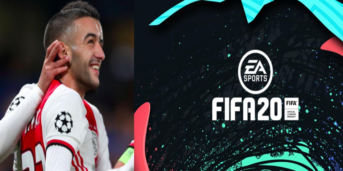 """صورة حكيم زياش يتحصل على بطاقة جديدة في لعبة """"Fifa20"""""""