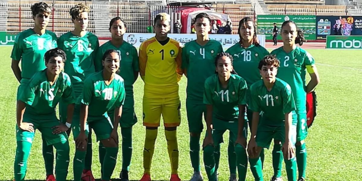 صورة المنتخب الوطني النسوي لأقل من 20 سنة ينتصر على منتخب بوركينا فاسو