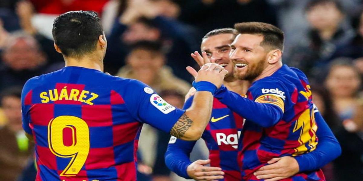 صورة أهداف ميسي تفوق عدد مبارياته مع برشلونة