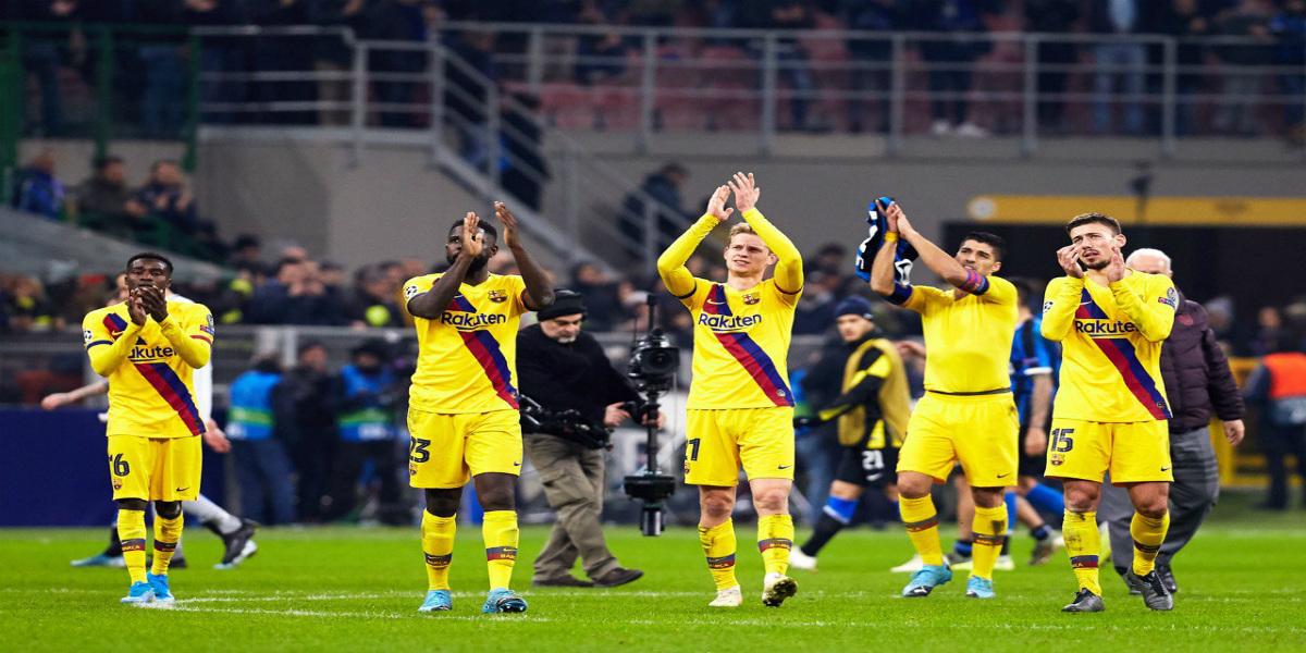 صورة بروسيا دورتموند يشكر برشلونة على إسقاطه لإنتر