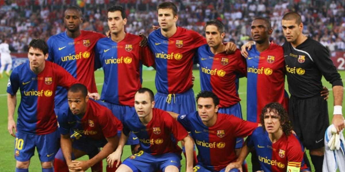 """صورة برشلونة يحتفي بمرور 10 سنوات على """"السداسية التاريخية"""""""