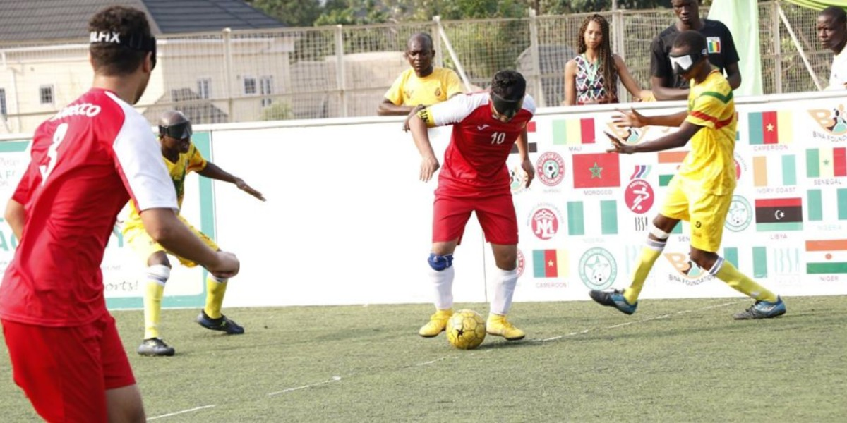 صورة المنتخب الوطني لكرة القدم للمكفوفين يتوج ببطولة إفريقيا