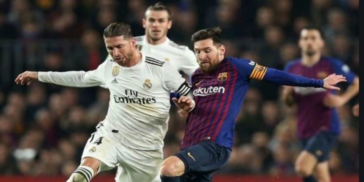 """صورة تدابير أمنية مشددة لإنجاح """"كلاسيكو"""" برشلونة وريال مدريد"""