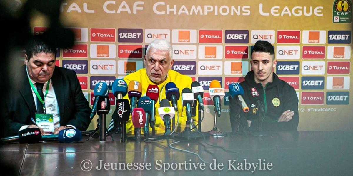 """صورة مدرب شبيبة القبائل: """"قدمنا للمغرب للفوز على الرجاء"""""""
