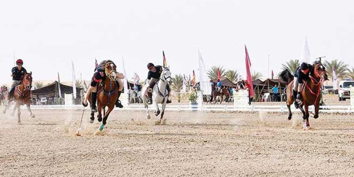 صورة سبع ميداليات للمغرب في بطولة الصداقة الخليجية لالتقاط الأوتاد في أبوظبي