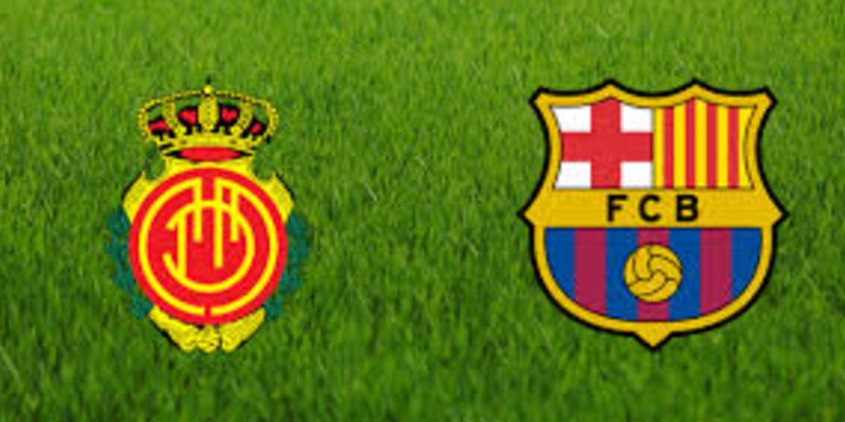 صورة البث المباشر لمباراة برشلونة وريال مايوركا