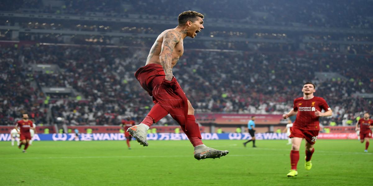 صورة بهدف فيرمينو.. ليفربول ينتصر على فلامينغو ويُحقق لقب كأس العالم للأندية