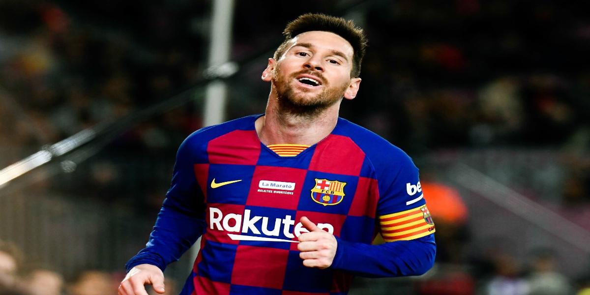 """صورة بعد تسجيله لـ""""هاتريك"""".. ميسي يتصدر ترتيب هدافي الدوري الإسباني"""