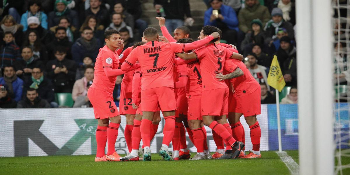 """صورة صحيفة فرنسية: """"باريس سان جيرمان سيكون بطل الليغ 1 رغم إلغاء الدوري"""""""