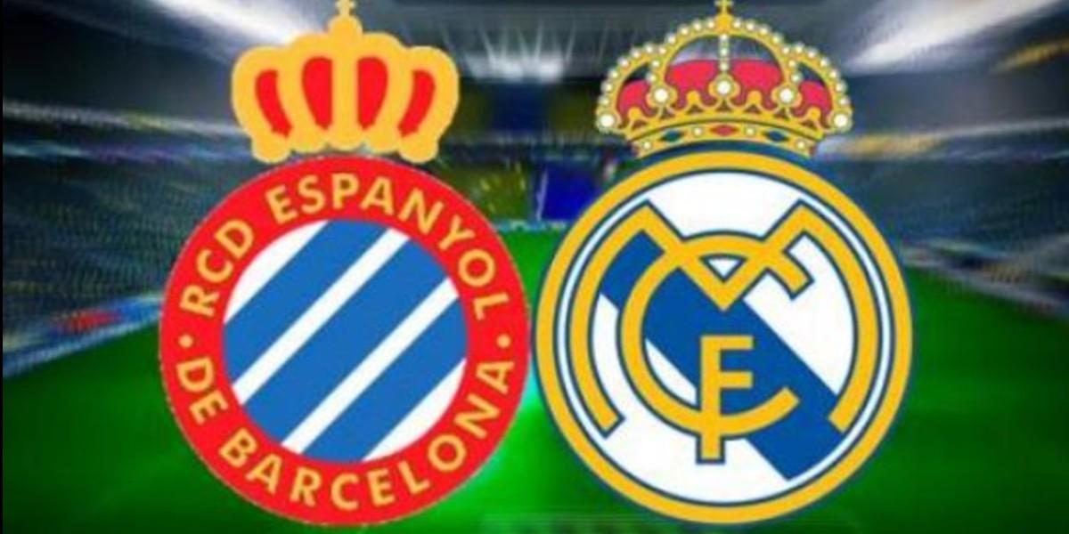 صورة البث المباشر لمباراة ريال مدريد وإسبانيول
