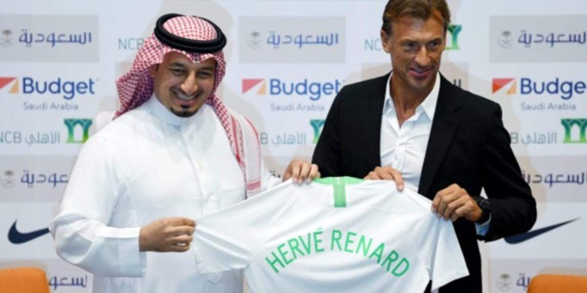 صورة رونار يعلق على خسارته لنهائي كأس الخليج