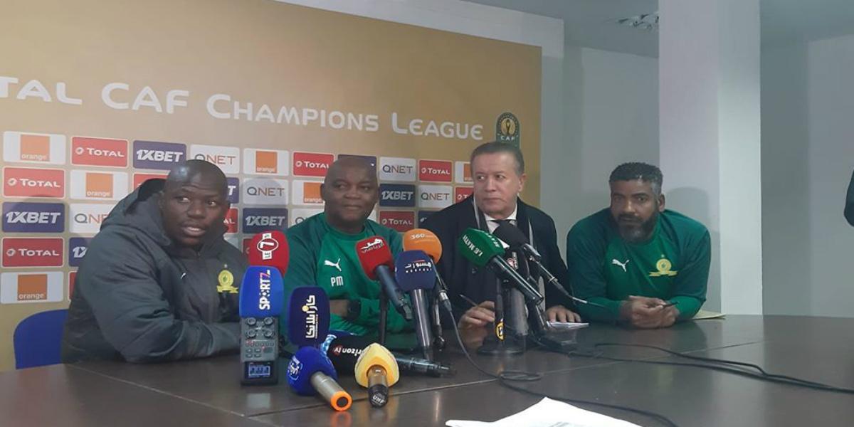 """صورة مدرب صن داونز: """"لم يسبق أن انتصرنا في الدار البيضاء.. ونحن لسنا خائفين"""""""
