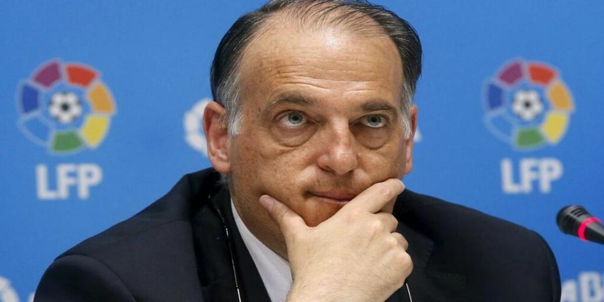 صورة تيباس يستقيل من منصبه كرئيس لرابطة الدور الإسباني