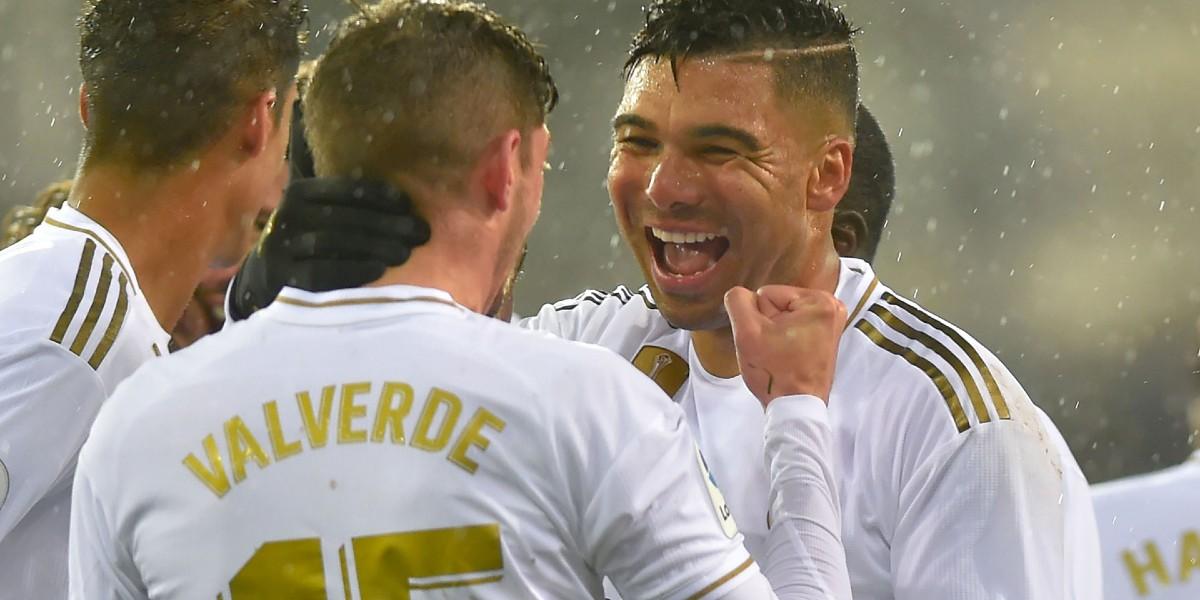 """صورة نجم ريال مدريد الأفضل في """"سوبر السعودية"""""""