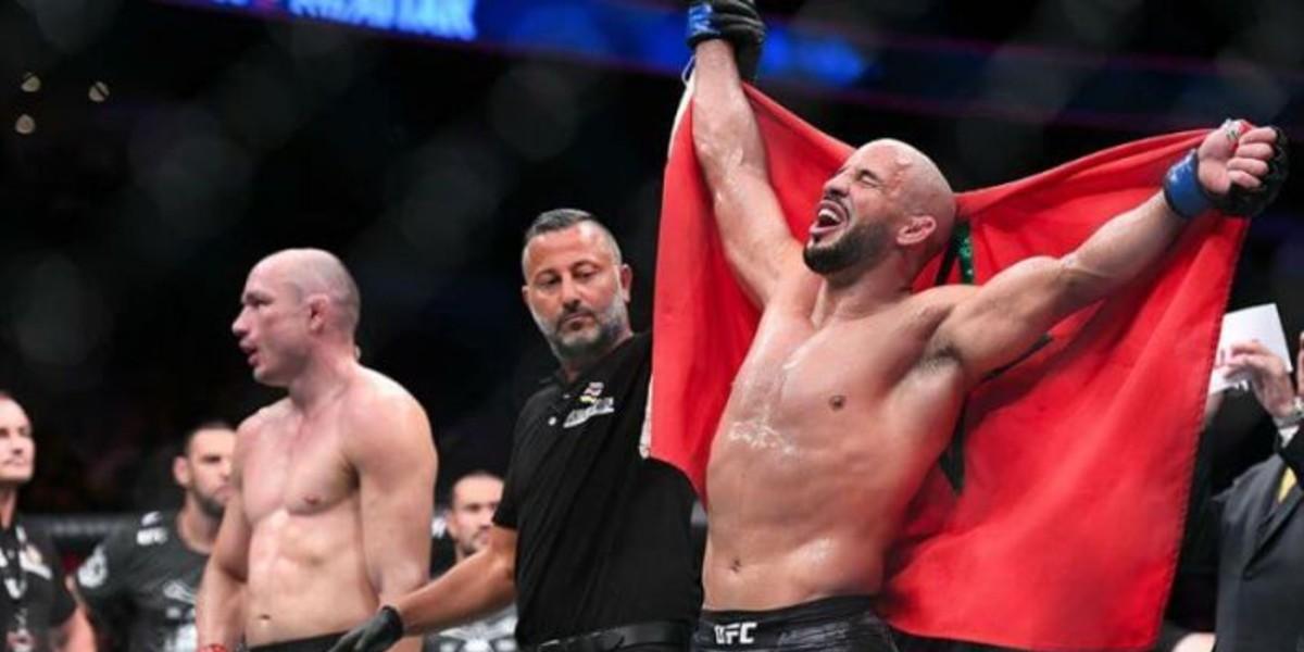 """صورة رسميا.. """"أبو زعيتر"""" يكشف عن خصمه القادم في """"UFC"""" وموعد مواجهته"""