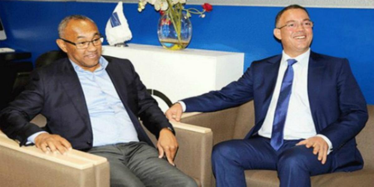 """صورة رئيس """"الكاف"""" يحلّ بالمغرب"""