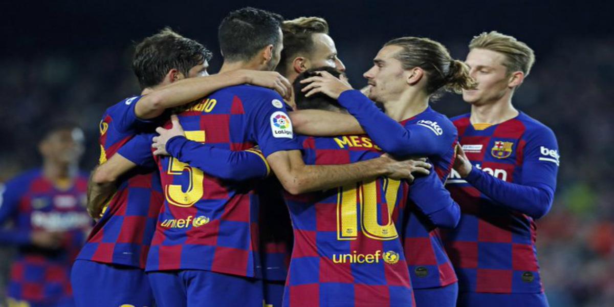 صورة تشكيلة برشلونة الأساسية أمام ليغانيس