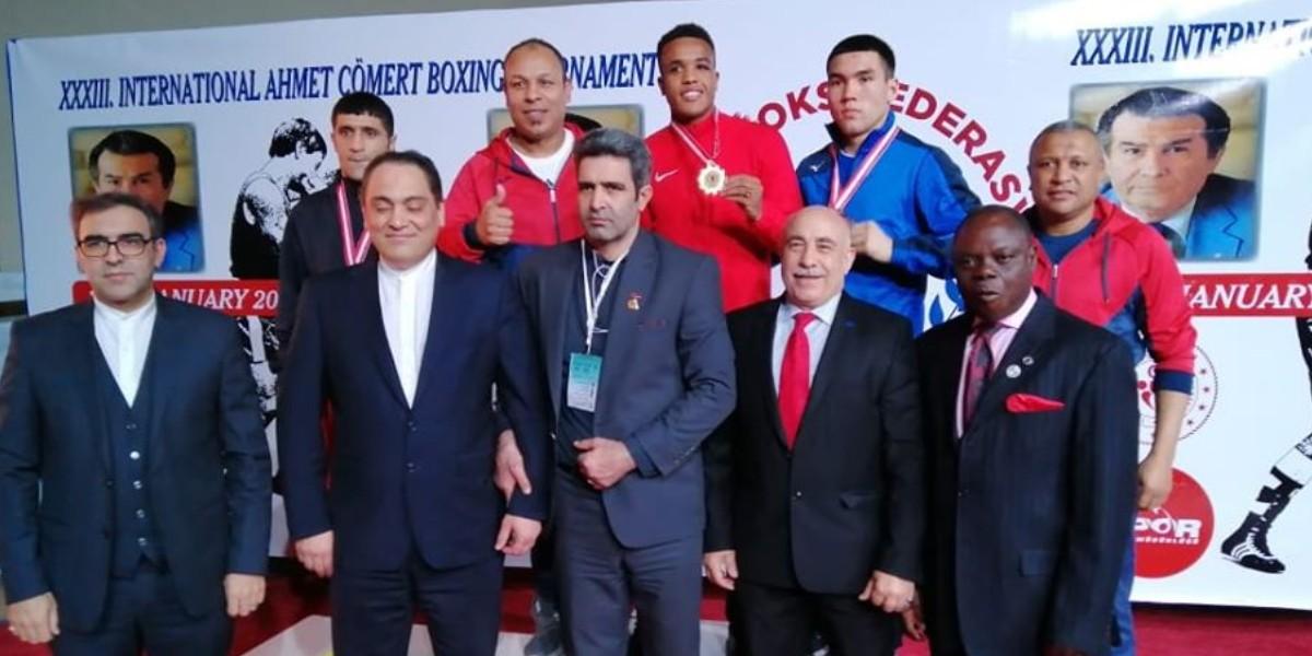 صورة المغرب ثالثا في دوري دولي للملاكمة بتركيا