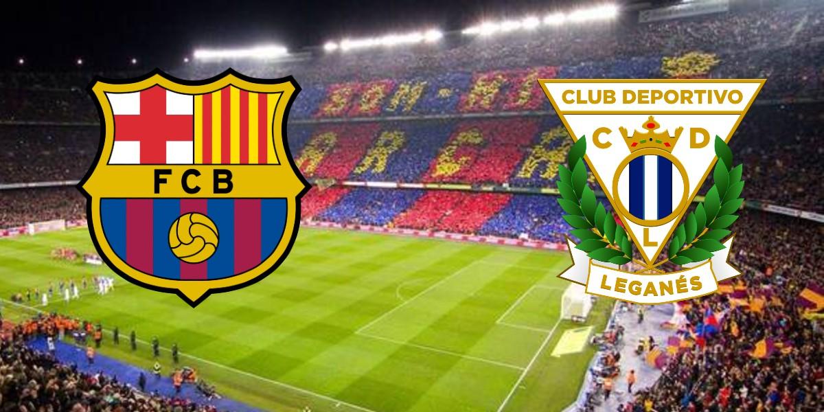 صورة البث المباشر لمباراة برشلونة وليغانيس